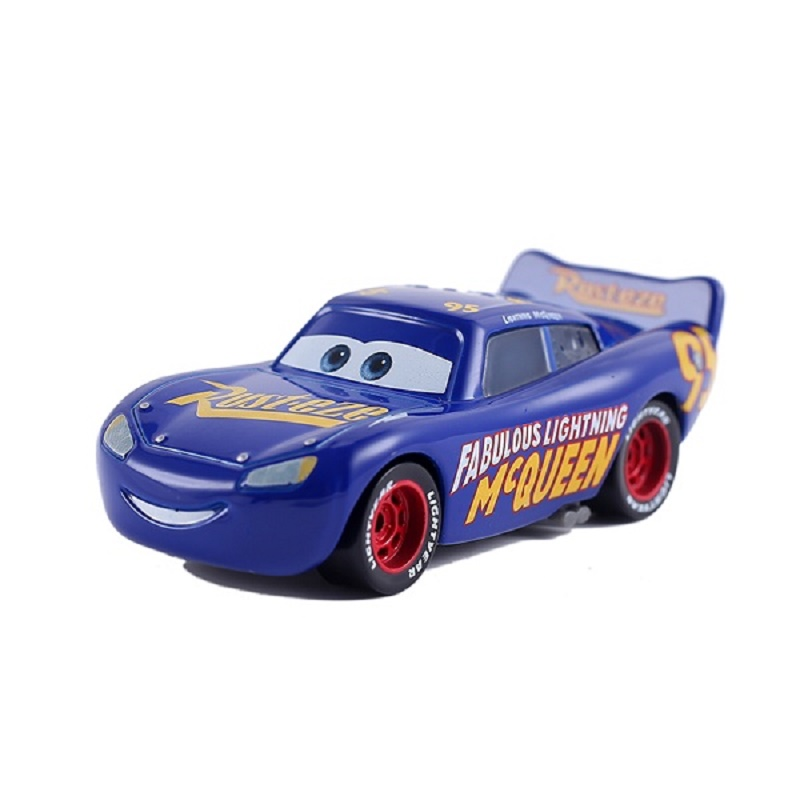Disney Pixar Cars 2 & Cars 3 Fabulous Lightning Mcqueen & McQueen Metal Diecast Toy Car 1:55 Loose Brand New In Stock