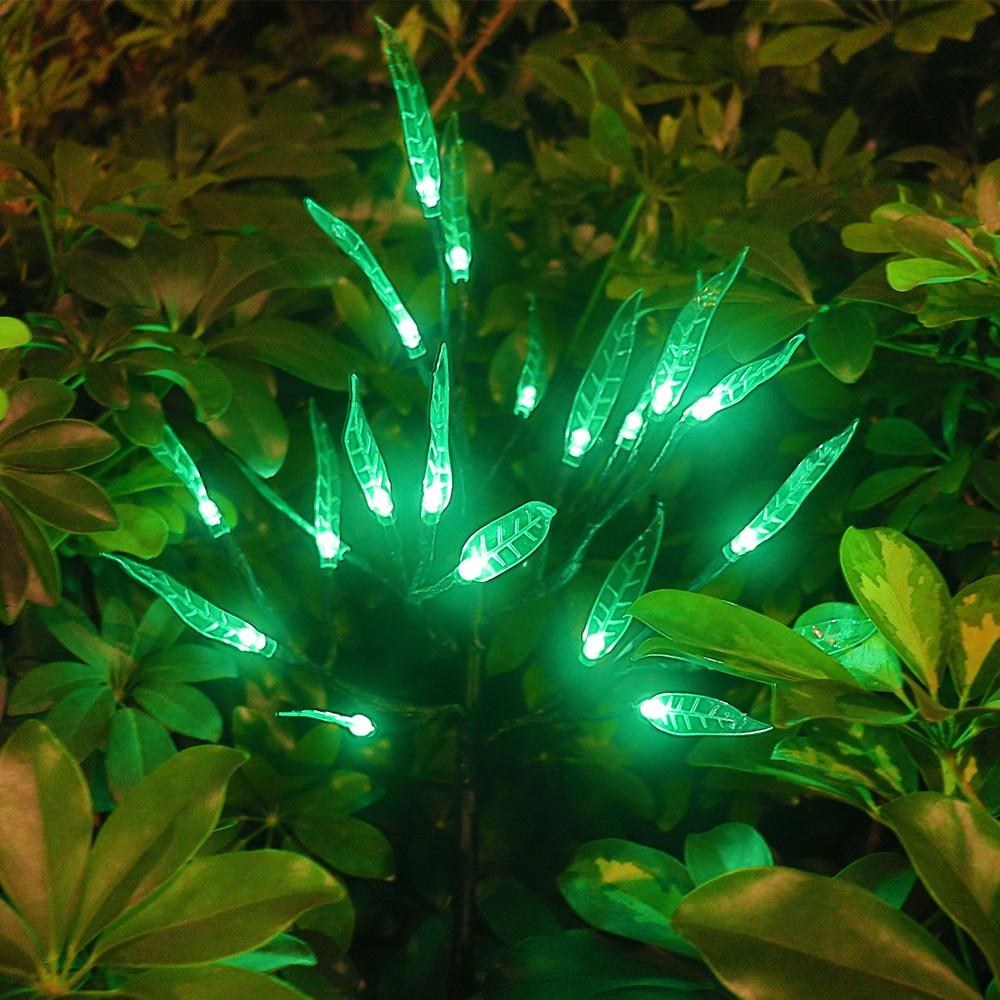 LED Solar Light for Garden Decoration Tree Flower Solar Lawn Lamp Waterproof Outdoor Landscape Lighting Path Lights Home Decor Solar Lamps     - title=
