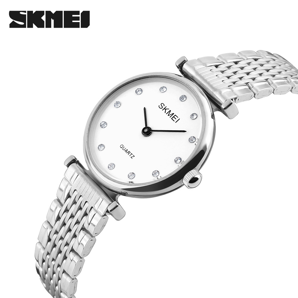 Women Watches SKMEI Luxury Quartz-watch Ladies Watch women Rose Gold Rhinestone Bracelet Waterproof Watches Relogio MasculinoWomen Watches SKMEI Luxury Quartz-watch Ladies Watch women Rose Gold Rhinestone Bracelet Waterproof Watches Relogio Masculino