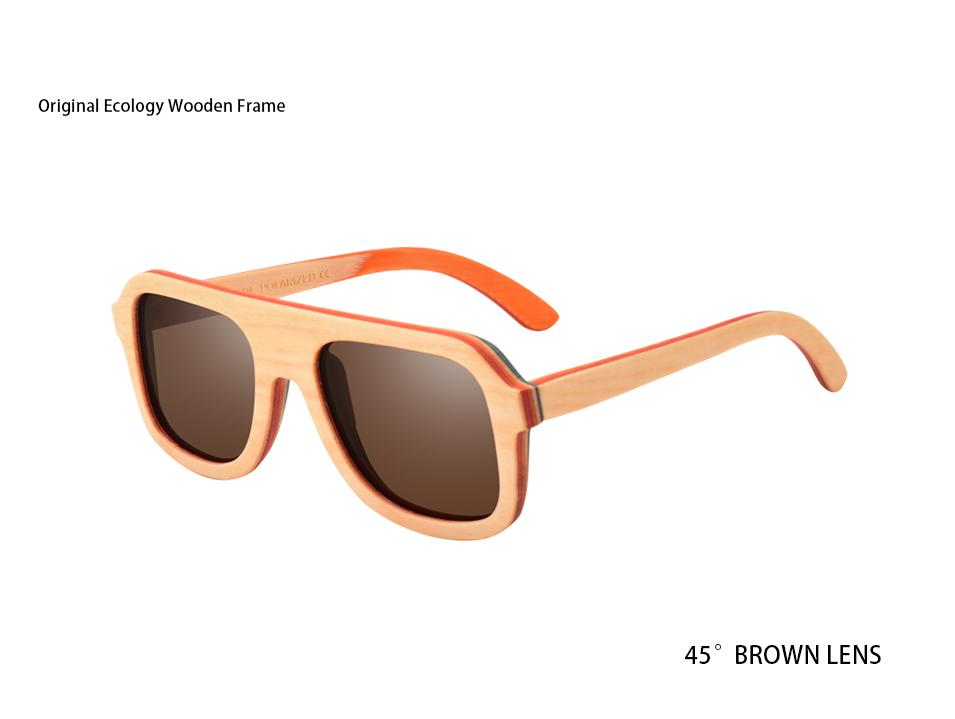 16e31accd AOFLY BRAND DESIGN Men Sunglasses Bamboo Sunglasses Handmade Wooden Frame  Polarized Mirror Lens Classic Gafas de sol UV400 AF618