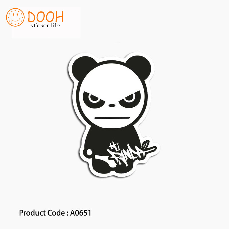 A0635 sticker blade dog panda animal brush skull waterproof suitcase laptop guitar luggage DIY skateboard bicycle toy HZ 30 Стикер
