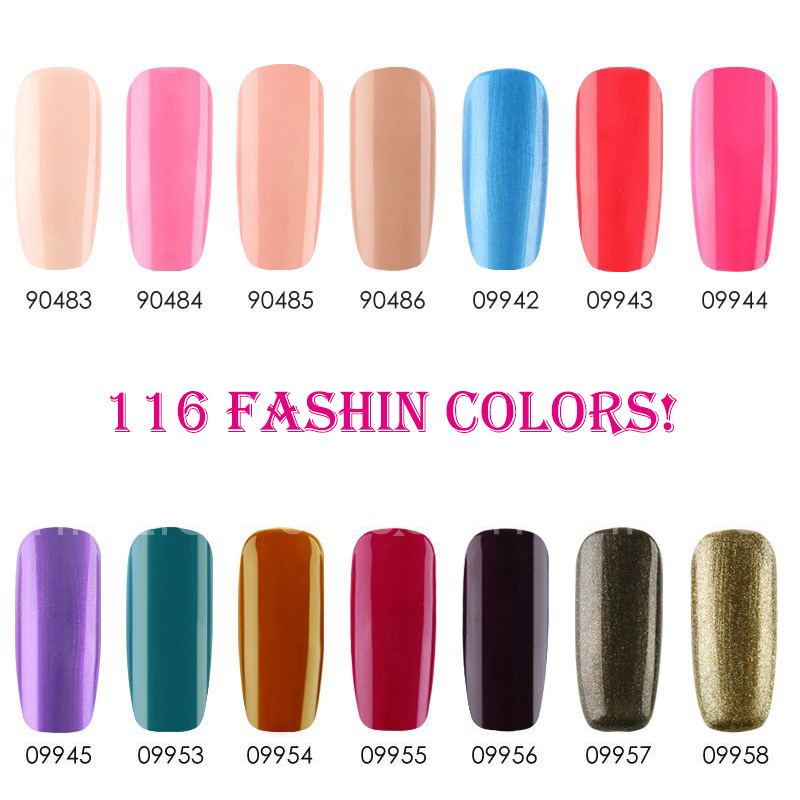 116Pcs lot Gelexus Soak Off UV LED Nail Gel Polish Total 116colors The Best Quality Gel