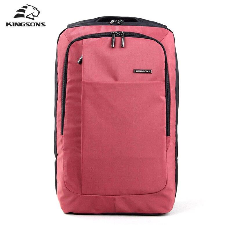 Kingsons Red Green Gray Bag 15 6 Inch Laptop Backpack Men s Escolar Mochila Camelback School