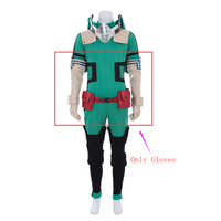 Cosplaydiy Anime My Hero Academia 3 Boku no Hero Akademia Izuku Midoriya Gloves Cosplay Props Long Gloves L320