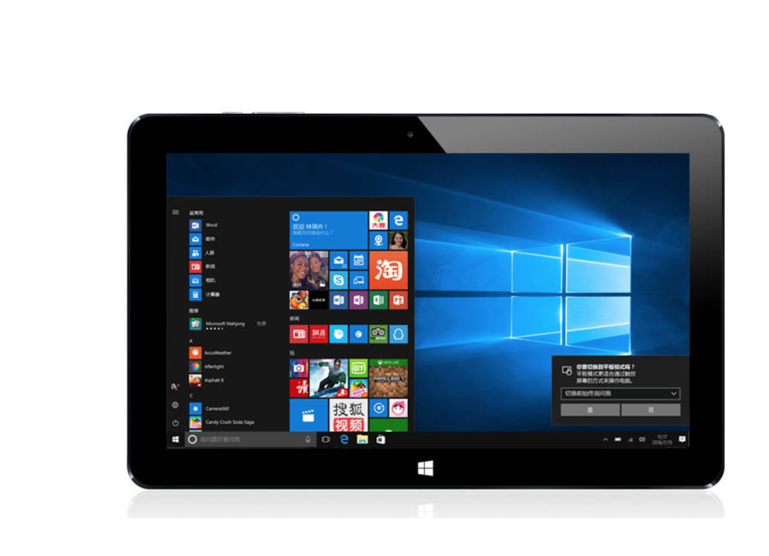 Alldocube/Cube Iwork11 Stylet Win10 + Android 5.1 Tablette PC 10.6 'IPS 1920x1080 Intel X5-Z8300 Quad noyau 2.0MP + 5.0MP Caméra HDMI