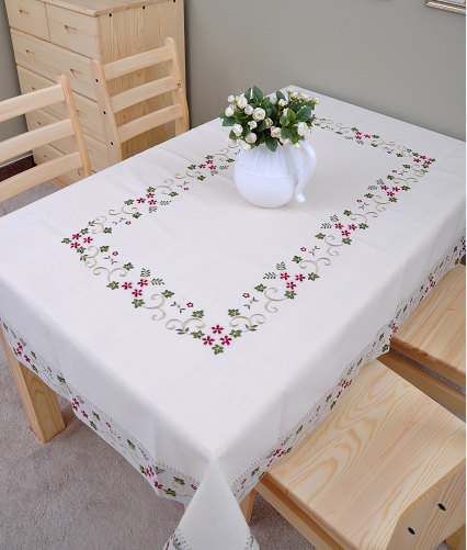 Embroidered Tablecloth Classical Dinner Table Cloth Extra Long Dinner Table  Cloth Table Cover Many Size Choose In Tablecloths From Home U0026 Garden On ...