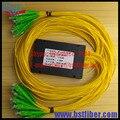 FTTH OLT 1x32 SC/UPC PLC Splitter SM single mode 2.0mm customized other LC,FC,ST pigtail