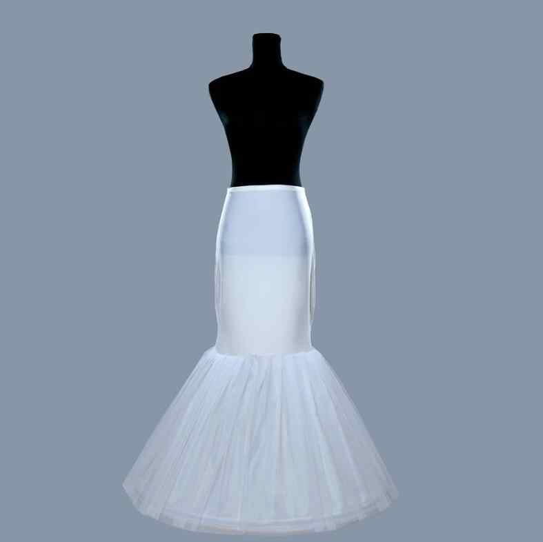 Hoge Kwaliteit Mermaid Bridal Wedding Petticoat Gratis Verzending Bruidsjurk Onderrok voor Wedding Crinoline Slip Accessoires