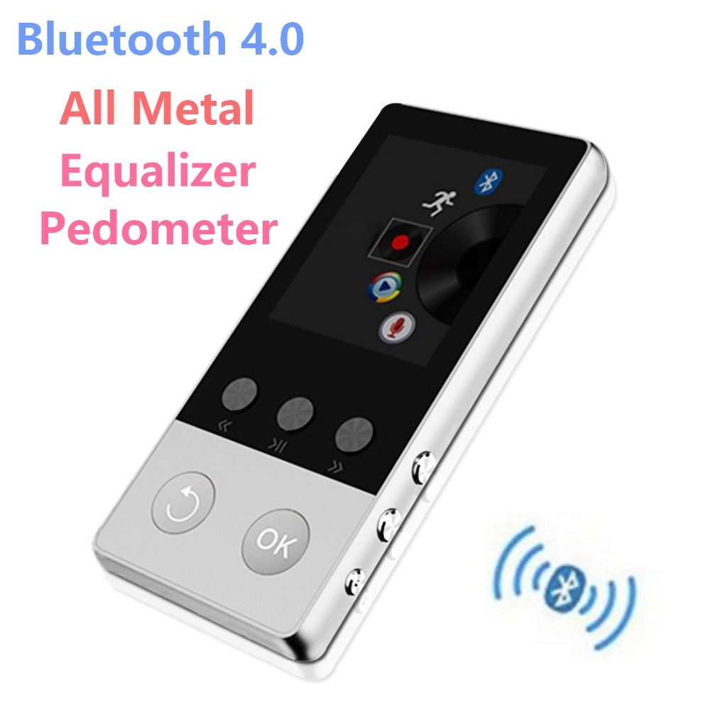 2017 High Quality Alloy Bluetooth Mp4 Player 8Gb Can -8385
