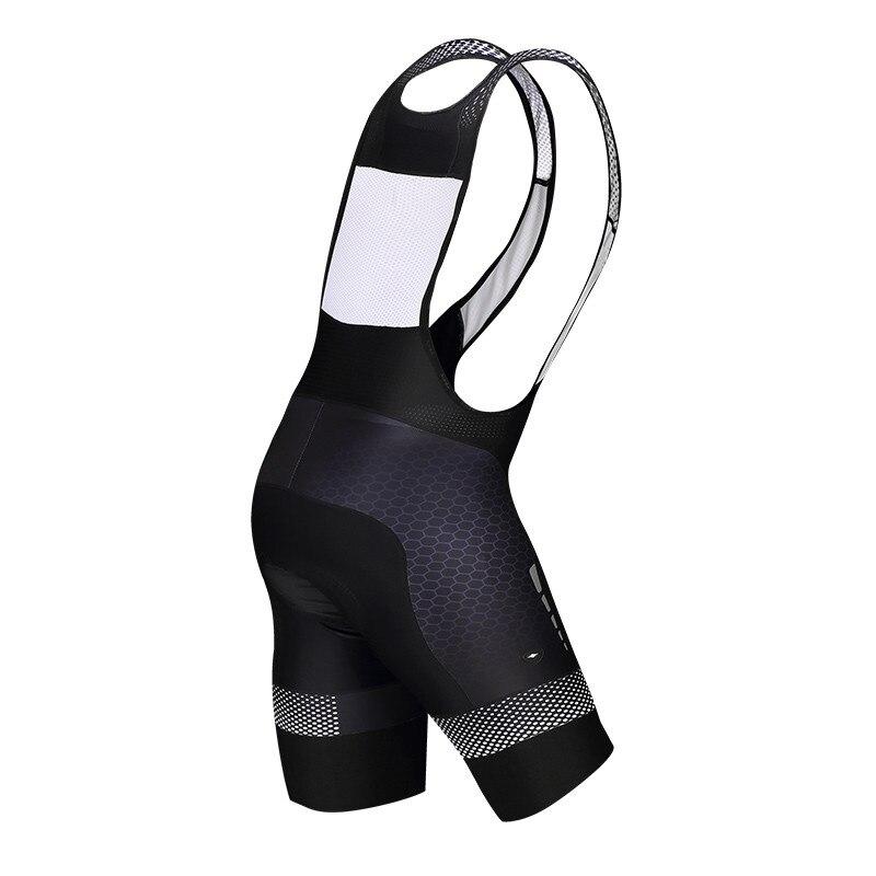 Мужские велосипедные шорты Santic 4D Coolmax, противоударные шорты с мягкой губкой, быстросохнущие шорты для горного велосипеда, Culotte Ciclismo Hombre - 2