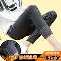 As mulheres grávidas leggings além de veludo lápis espessamento calças cintos de inverno mulheres grávidas cuidados calças abdominais calças Waichuan