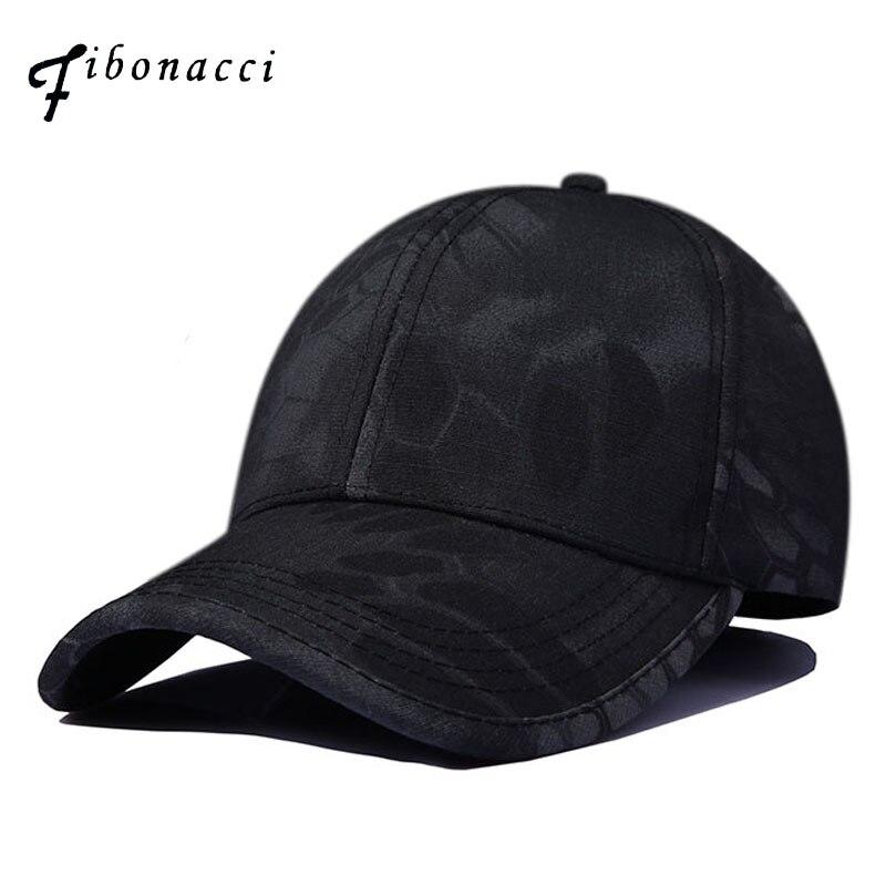 Fibonacci Camouflage Print Jungle Seal Baseball Cap Concealment Tactical Hats Adjustable Snapback Bone Outdoor Camo Cap tropic hats mesh cap w camouflage front and visor adjustable one size