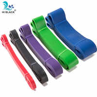 Bandes élastiques multifonctionnelles de résistance pour l'exercice de corde de forme physique équipement de forme physique entraînement de corde de traction de Tube de Latex d'entraînement de Pilates