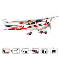 RC airplanes RC cessna 182 RTF radios RC Planes 2.4Ghz 6CH radios control airplane EPO fixed wing plane brushless Free shipping