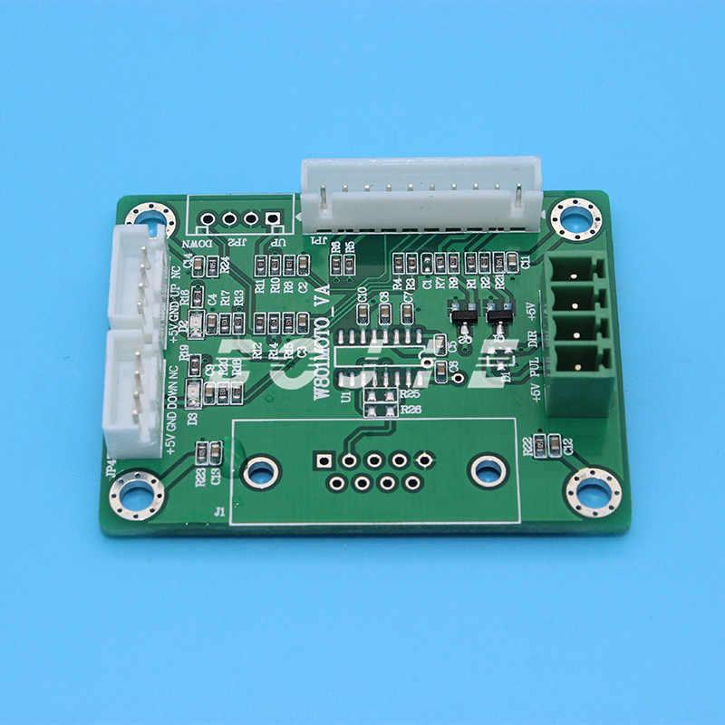 UV Flatbed Printer Papan Utama Mengubah Papan untuk DX5/DX7 Printhead