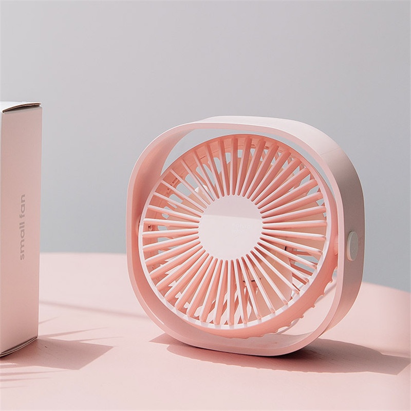 Small Air Conditioning Appliances Outdoor Mini Handheld Fan Portable Lemon Fan Beautiful Colors Usb Battery Rechargeable Fan