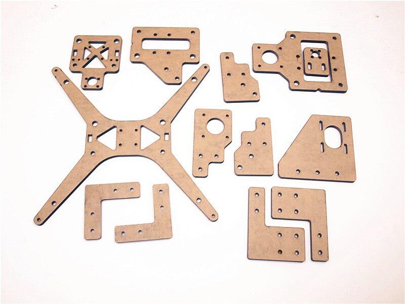 Funssor Tarantula Printer acrylic plate frame kit for TEVO Tarantula 3D printer part Laser cut parts 3d printer repraptantillus 3d printer 6mm acrylic laser cut frame kit set 6mm thickness high quality free shipping page 9