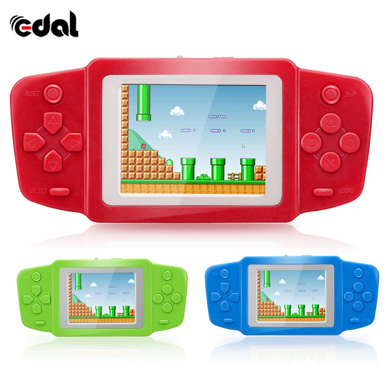 EDAL Good Gift For Child Ultra-Thin Portable Video Game Player Classic Gamepad Games Puzzle game Console Video Game k5 See