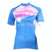 ropa ciclismo 2016 new girls cartoon cycling jersey horse/rabbit bike shirt women funny/cheap cherry/flowers cycling clothing