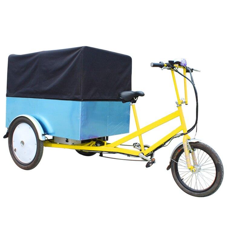 Three Wheels Food Trucks Mobile Food Trailer Food Cart Bike With Free Shipping By Sea