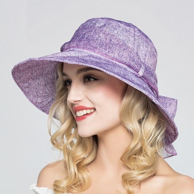 Summer Sun Hats Girls 2017 Stylish Beach Cap Wide Brim Korean Sombreros  Mujer UV Sunscreen Sun 48ee1813cf1