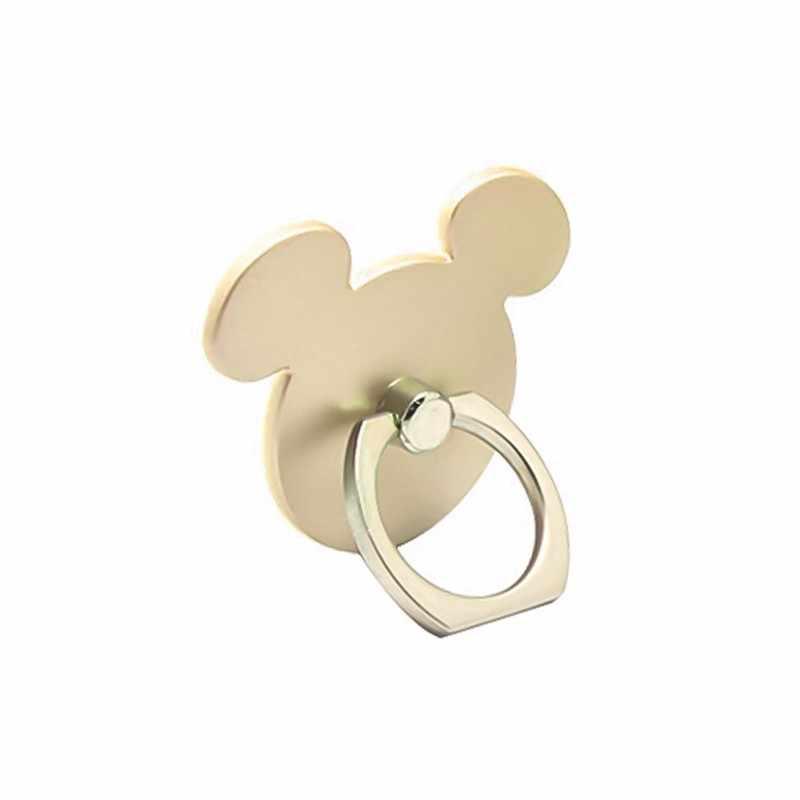 Diseño de ratón gato dedo anillo para teléfono móvil soporte para Smartphone socket para teléfono inteligente soporte de montaje de coche