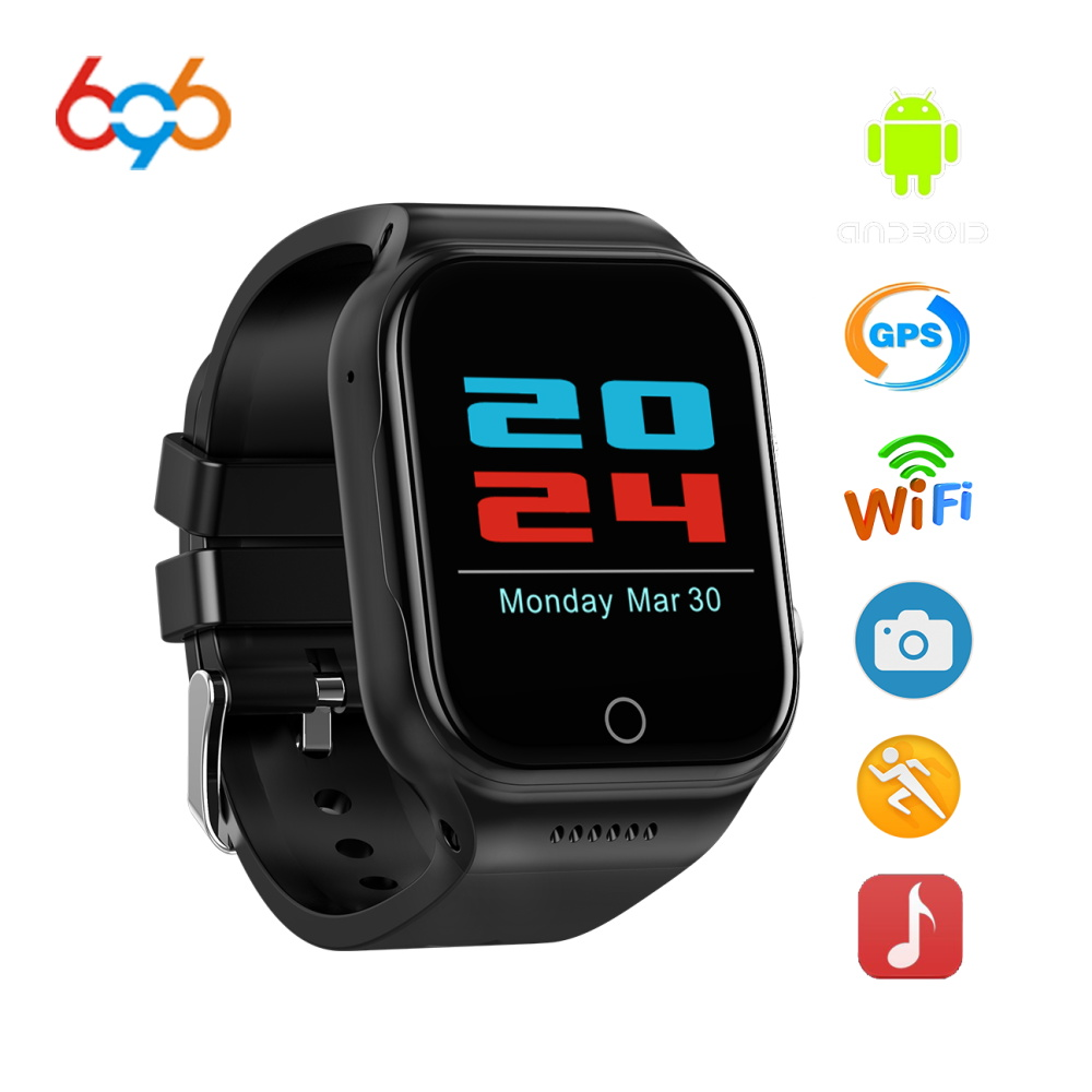 696 X89 Smart Watch 1.54Inch android 5.1 MTK6580 Quad Core Bluetooth Electronics 3g SmartWatch with Battery 600MA GPS Wifi watch