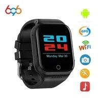 696 x89 relógio inteligente 1.54 Polegada android 5.1 mtk6580 quad core bluetooth eletrônica 3g smartwatch com bateria 600ma gps wifi relógio