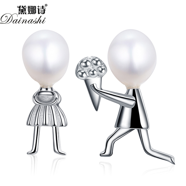 Dainashi 100% 925 sterling silver jewelry Romantic Propose Marriage Love Jewelry