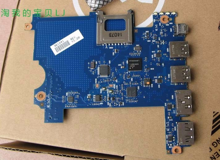 ФОТО Free shipping For HP EliteBook 8770W with support USB 3.0 board System/laptop motherboard 6050A2479601 fully tested