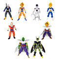 Starz 8 unids/set Dragon Ball PVC figuras de acción del Anime juguetes Goku / Gohan / Vegeta / Trunks / krilin / Piccolo / freezer / celular