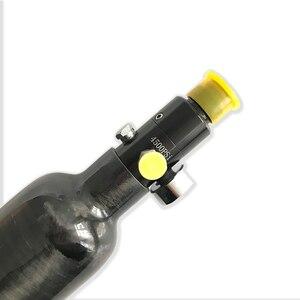 Image 3 - AC303561 Acecare الألوان منظم 4500Psi 30Mpa خزان من ألياف الكربون PCP بندقية مسدس الهواء المضغوط بندقية سلاح الجو كوندور