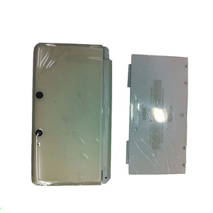 Image 4 - מלא Shell Case שיכון עבור Nintend 3DS Gamepad קונסולת כיסוי עם גומי זכוכית
