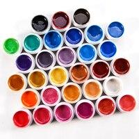 31 colori Perla Colore Gel Polish Nail Art Salon UV Del Gel Del Chiodo Polish Soak Off Gel Smalto di Chiodo Asciutto Con Lampada UV Per Unghie