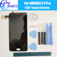 UMIDIGI Z1 Pro LCD Display+Touch Screen 100% Original LCD Digitizer Glass Panel Replacement For UMI Z1 Pro+tools+adhesive