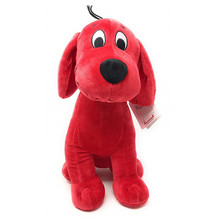 Hot anime 32CM Clifford the Big Red Dog Stuffed toy doll plush Birthday and Christmas gifts for children