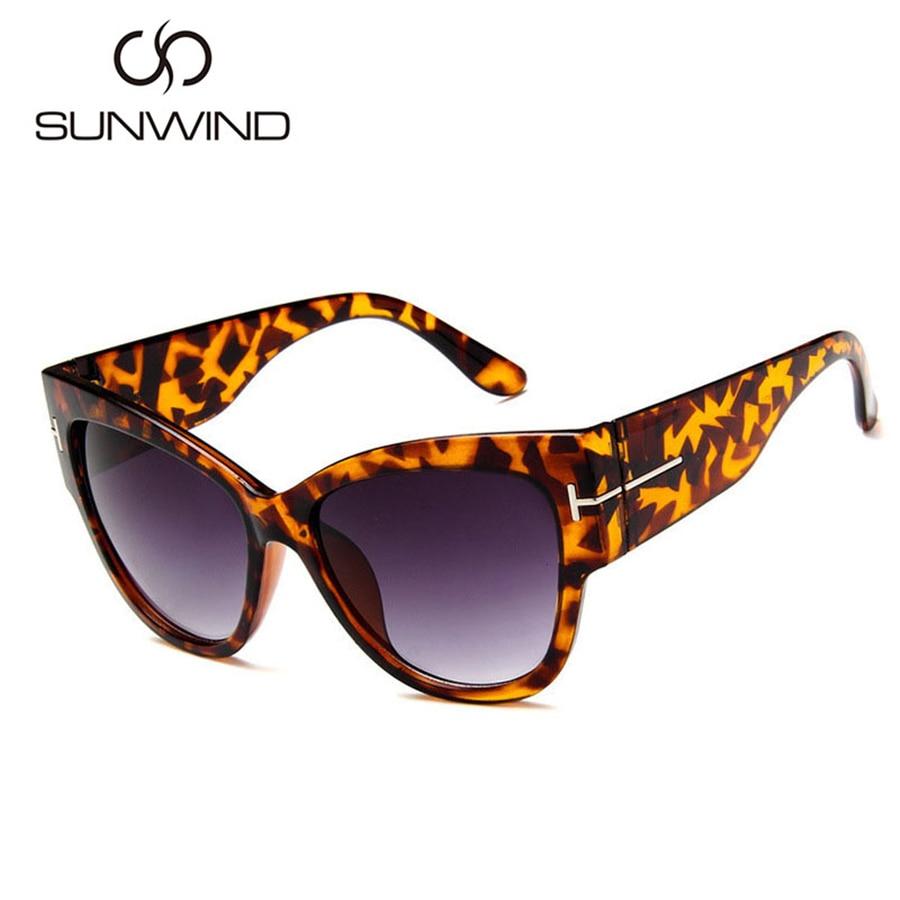 2018 Cat Eye Sunglasses Wanita Merek Mewah Designer Vintage Sun - Aksesori pakaian - Foto 3