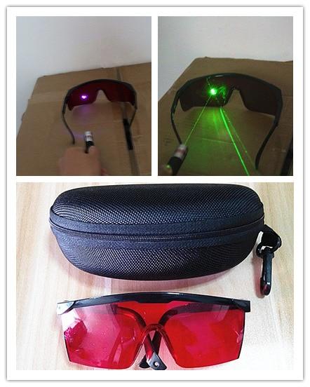 532nm 녹색 405nm 자주색 청색 레이저 안전 안경 - 보안 및 보호 - 사진 2