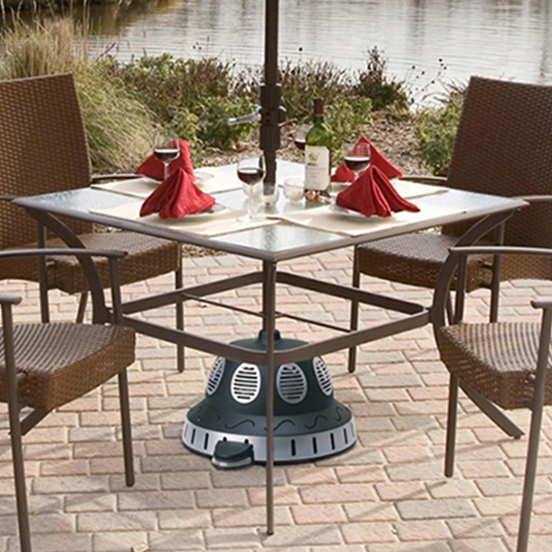 Outdoor Umbrella Under Table Heater Ceramic PTC Heater Floor Standing  Electric Patio Heater IPX4 Waterproof 220 240V In Electric Heaters From  Home ...