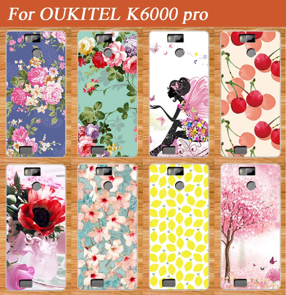 Új érkezés 10 mintával, színes virágokkal festett, gyümölcse - Mobiltelefon alkatrész és tartozékok