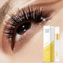EFERO Eyelash Growth Serum Curling Eyelash Enhancer Mascara Essence Natural Longer Thicker Lashes Eyelashes for Makeup Cosmetic цена и фото
