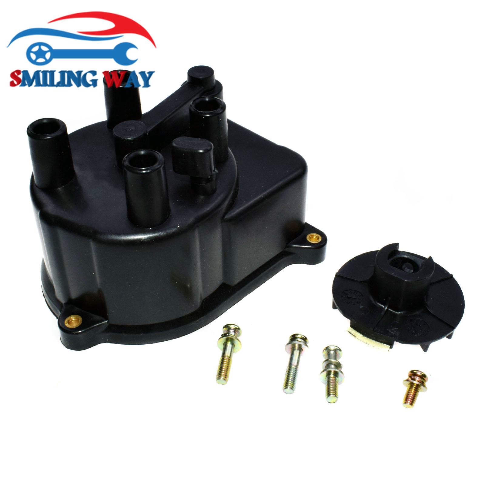 SMILING WAY# Distributor Rotor & Cap For Honda Accord