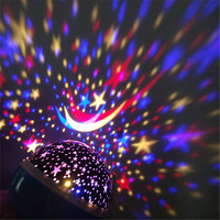 Home Atmosphere Lights Star Master Projector LED Starry Light Lamp Star Sky Gift Night Light Kids