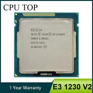 Image 1 - Intel Xeon E3 1230 V2 3,3 GHz Quad Core CPU Prozessor SR0P4 LGA 1155