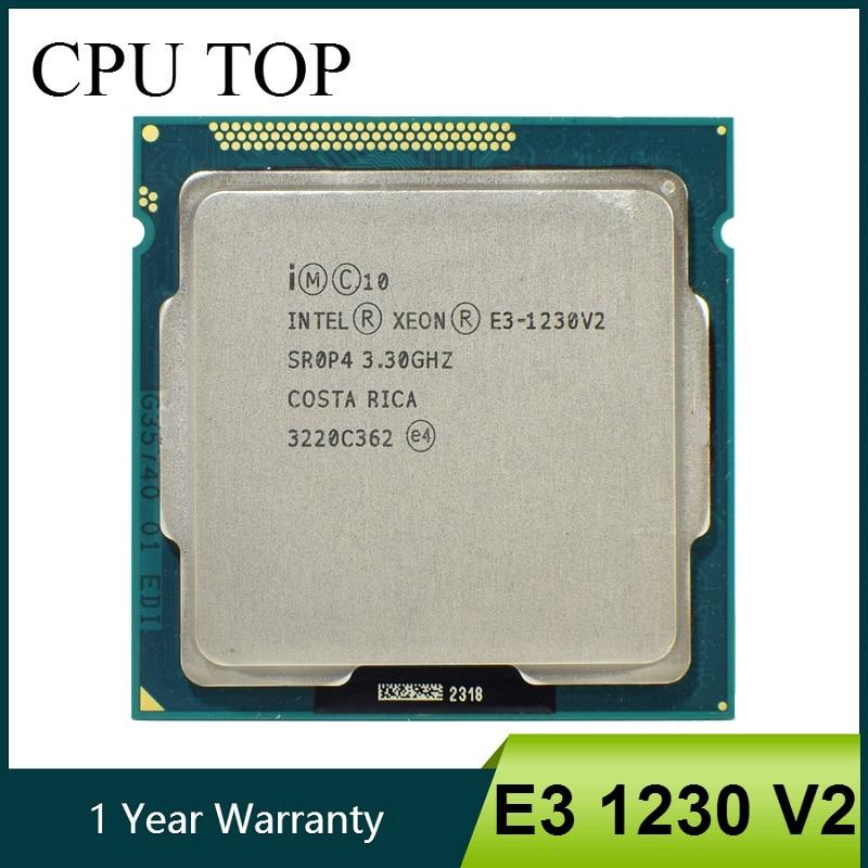 Intel Xeon E3 1230 V2 3.3GHz Quad Core CPU Processor SR0P4 LGA 1155-in CPUs from Computer & Office    1