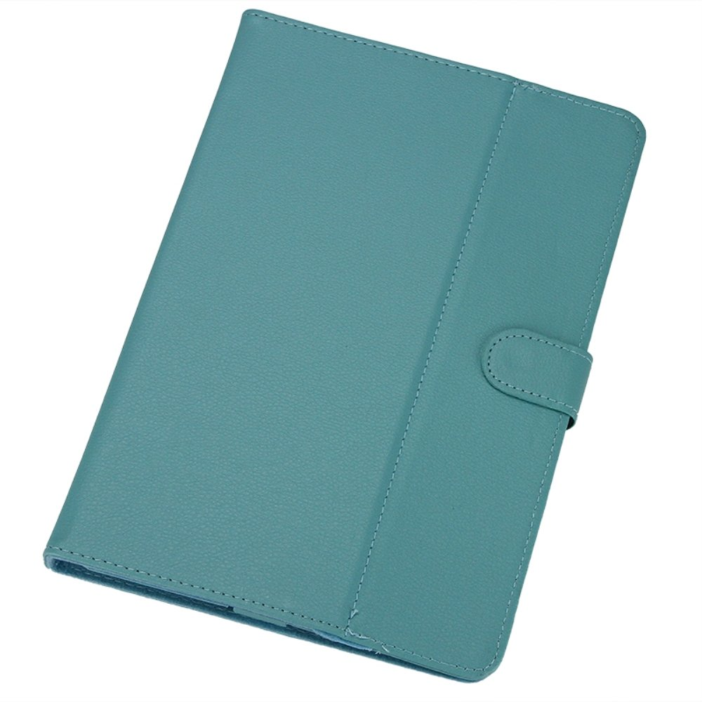 GTFS Hot Leather Folder Pouch Cover Skin Case Shell, Tablet Cover, Tablet Case For 10 inch Tablet PC(Blue 10 inch)