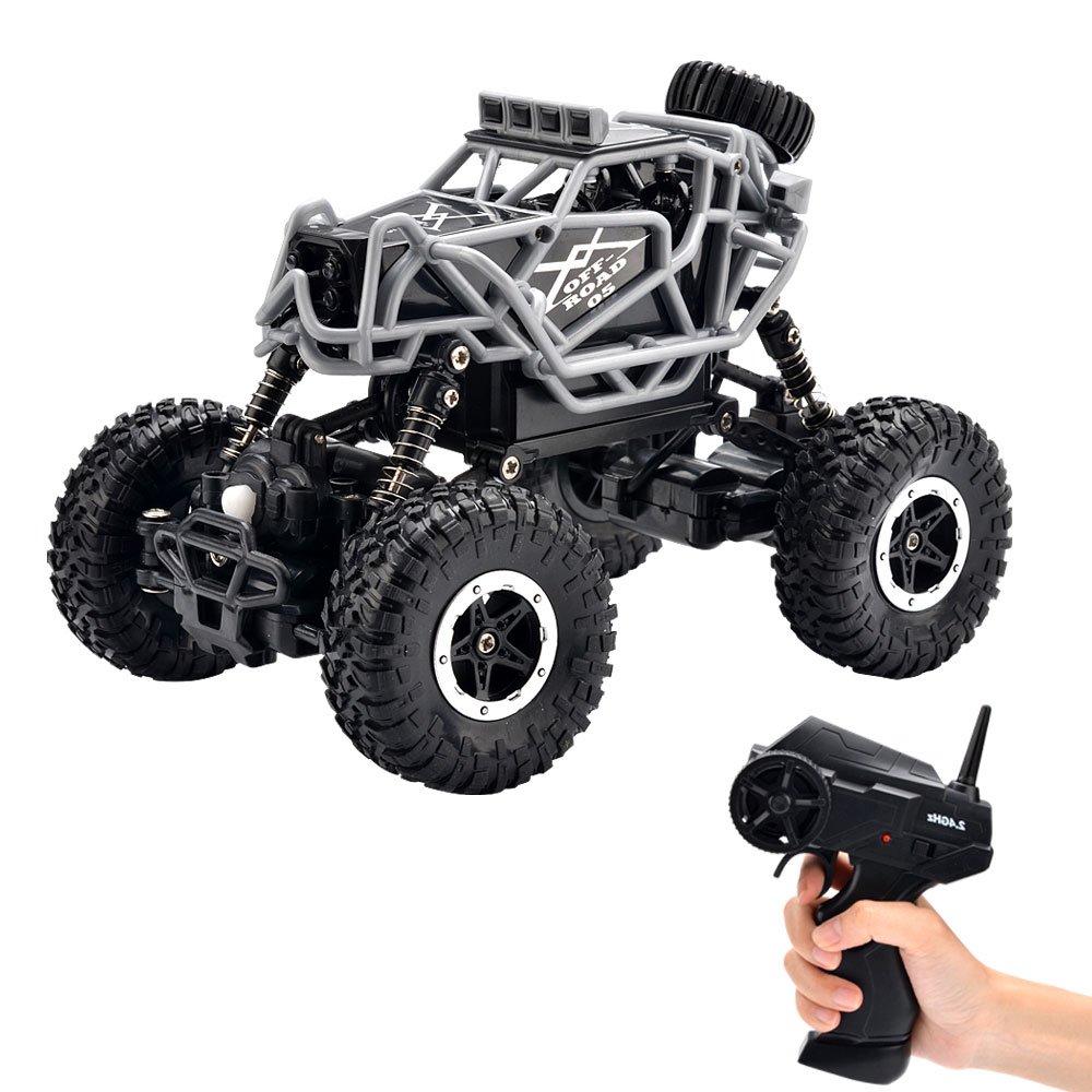 Monster Truck Rc Cars >> Us 26 99 25 Off 4wd Off Road Rc Car Remote Control Monster Truck Climbing Car Rc Rock Crawler 2 4ghz Transmitter Off Road Vehicle Power Motor In Rc