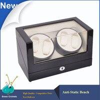 High glossy surface Wooden Luxury Watch Winder,Super Silent Motor 5 Modes,Watch Winder