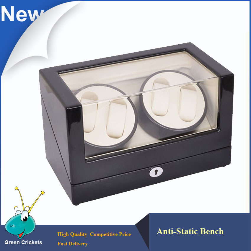 High glossy surface Wooden Luxury Watch Winder,Super-Silent Motor 5 Modes,Watch Winder 2016 latest luxury 5 modes german motor watch winder yellow spray paint wooden white pu leater inside automatic watch winder