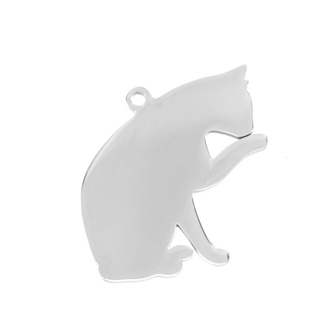 Aliexpress.com : Buy Simsimi A Licking Paw Cat Stainless